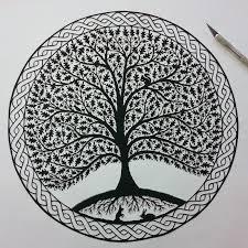 folk papercuts by suzy trees