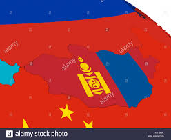 Mongolia On World Map Mongolian Map Stock Photos U0026 Mongolian Map Stock Images Alamy