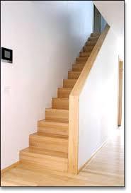 gerade treppe lang holztreppen