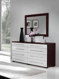Glass Mirrored Bedroom Set White And Mirrored Dresser U2013 Harpsounds Co