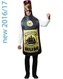 get real rum bottle mens costume themes