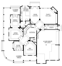 country style house plan 4 beds 4 5 baths 4725 sq ft plan 132