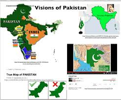 Map Of Pakistan And India by Mappery And The Problems With U201ctrue U201d And U201creal U201d Maps Geocurrents