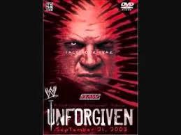 unforgiven theme song wwe unforgiven 2003 theme song youtube