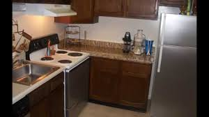 Faux Granite Luxe Living 4 Less Apartment Kitchen Faux Granite And Stainless