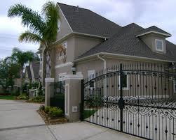 quality ornamental iron in pasadena driveway gates