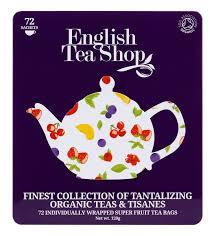 tea shop organic premium collection gift tin