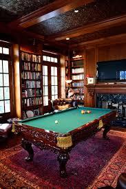 small pool table room ideas charleston row billiard room elegant study featuring a renaissance