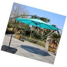 10 Ft Offset Patio Umbrella Sumbel Outdoor Living 10 Ft Aluminum Offset Patio Umbrella 8 Steel