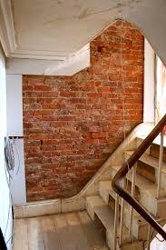 exposed brick around exposed bricks using for framing exposed bare brick