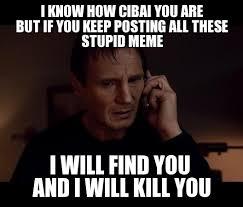 Liam Neeson Meme - liam neeson donates weknowmemes generator
