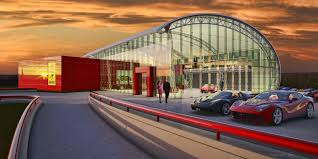 ferrari dealership inside luxury auto dealership imbimbo architecture development