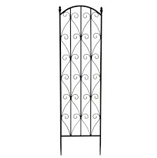 bentley garden wrought iron flower trellises white u0026 black