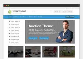 bid auction websites auction theme premiumpress themes