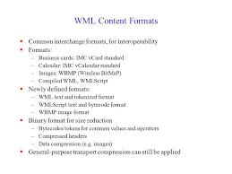 Standard Business Card Format Wireless Application Protocol Sridhar Iyer Kr Of