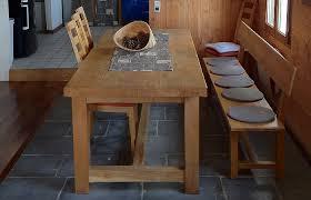 table cuisine bois massif table cuisine en bois table en bois pour cuisine occasion set de