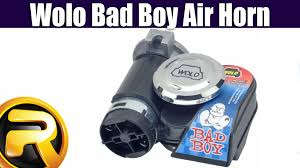 how to install the wolo bad boy air horn youtube