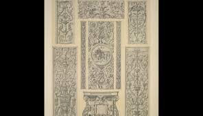renaissance ornament no 3 renaissance ornaments in relief from