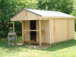 How To Build A Simple Wood Storage Shed by How To Build A 12x20 Cabin On A Budget 15 Steps With Pictures