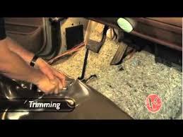 installing vinyl flooring in a truck replacing your truck