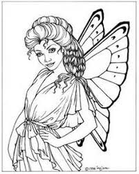 check beautiful fairy coloring pages package