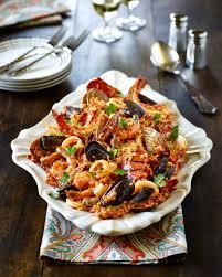 riz aux fruits de mer à la portugaise recettes du québec
