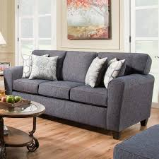 Couch Angled View Sofa With Casual Style 3100 By American Furniture Wilcox