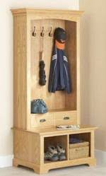 coat rack bench woodworking plans and information at
