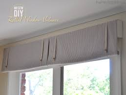 Making A Window Valance Window Valance Ideas Diy Do It Your Self