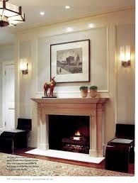 sallyl elegant wood paneled fireplace with builtin tv dark