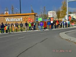 thanksgiving at walmart walmart workers strike in klamath falls u0026 medford southern