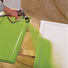 Paint Sprayer For Kitchen Cabinets by How To Paint Kitchen Cabinet With A Sprayer Kitchen Design