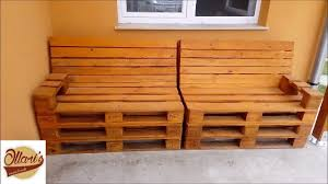 how to build a pallet sofa step by step youtube
