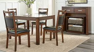 Cheap Dining Room Furniture Sets Sutter Place Brown Cherry 5 Pc Dining Set Dining Room Sets Wood