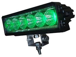 led security light bar hog hunting green led light bar model 1