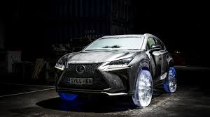 lexus truck nx lexus creates cool nx with ice wheels videos
