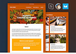 thanksgiving email template this free html template by