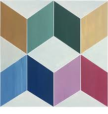 12 x12 flooradorn squared color tiles set of 6 contemporary