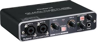 roland quad capture usb 2 0 audio interface