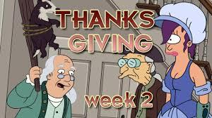 benjamin franklin thanksgiving week 2 futurama worlds of