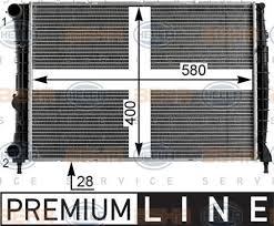 8mk 376 900 001 hella radiator engine cooling ebay
