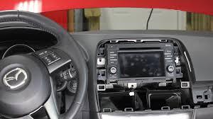 mazda c 6 mazda cx 5 stereo radio audio unit removal u0026 installation