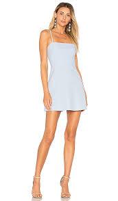 light blue mini dress by the way vienna a line mini dress in light blue revolve
