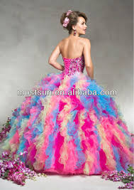 rainbow colored wedding dresses pictures ideas guide to buying