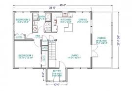 floor plans for cabins 16 x34 with loft plus 6 x34 porch side house plan home floor plans with loft adhome house plans