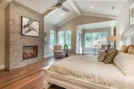 Crown Moulding On Vaulted Ceiling by Traditional Master Bedroom With Crown Molding U0026 Ceiling Fan