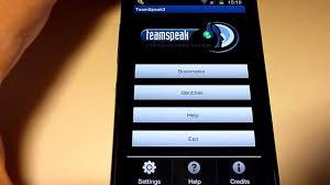 teamspeak 3 apk test teamspeak 3 sur androïde