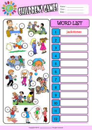 esl printable word games for adults children games esl printable worksheets for kids 3