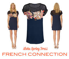 french connection aloha dress florence finds