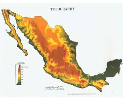 Mesoamerica Map Maps Of Mexico Detailed Map Of Mexico In English Tourist Map